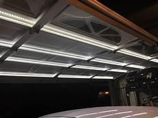 Garage Door Led Lights Single Track Garage Door Lighting System Garage Door