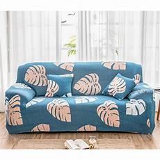 1 3 seat printed sofa slipcover spandex stretch