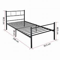 Panana 2 X 3ft Single Metal Bunk Bed 2 by Panana 3ft Single Metal Bed Frame With Mattress Free