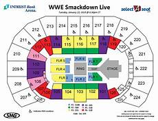 Seating Charts Events Amp Tickets Intrust Bank Arena