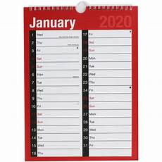 Appointment Calendar 2020 Printable 2020 Month To View Appointment Calendar Stationery Sale