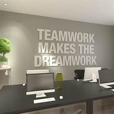 Office Artwork Teamwork Makes The Dreamwork 3d Office Decor