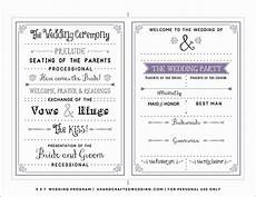 Programme Itinerary Template Free Downloadable Wedding Program Template That Can Be