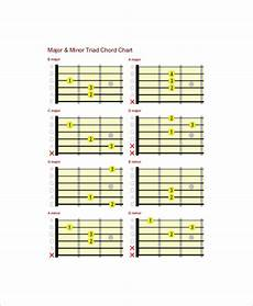 Guitar Bar Chords Chart Free 6 Complete Guitar Chord Charts Free Sample Example
