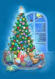 Holiday Cards Online Free Decorated Tree Christmas Card Free Greetings Island