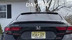 2018 Accord Custom Lights How To Install Custom Taillights On 2018 19 Honda Accord