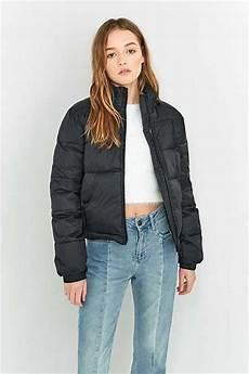 Light Blue Puffer Jacket Urban Outfitters Women S Jackets Amp Coats Winter Amp Bomber Jackets Urban