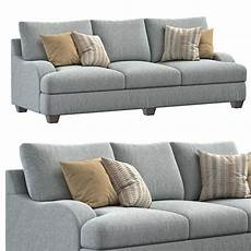 Sofa Bed Memory Foam 3d Image by Foam Sofa 3d Model Max Obj Fbx