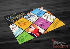 Creative Flyer Design Templates Free 7 A4 Flyer Mockups In Psd Indesign Ai