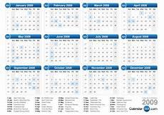 Year Calender 2009 Calendar