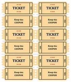 Draw Ticket Template Free Printable Raffle Ticket Template Download Free