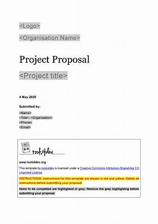 Template Proposal 43 Professional Project Proposal Templates ᐅ Templatelab