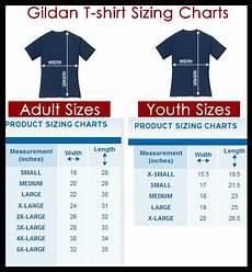 Gildan Youth Medium Size Chart Gildan Size Charts