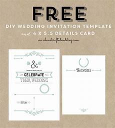 Free Postcard Invitation Templates Printable Free Wedding Invitation Template Amp Details Card Via