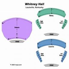 Whitney Hall Louisville Seating Chart Kentucky Center For Arts