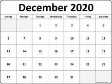 Free December 2020 Calendar December 2020 Blank Calendar Templates