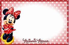 Minnie Mouse Birthday Invitations Free Printable Minnie Mouse Birthday Invitations Free