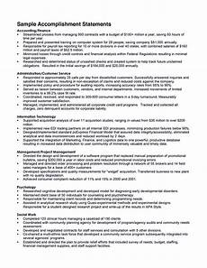 Achievements On Resume Impressive Accomplishments Resume To Get Noticed Resume