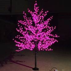 Tree Lights On Sale Outdoor Waterproof Artificial 1 5m Led Cherry Blossom Tree