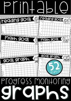 Chart For Students To Monitor Progress Progress Monitoring Tracking Sheets Student Data Binders