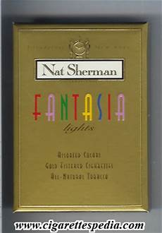 Nat Sherman Fantasia Lights Nat Sherman Fantasia Lights L 20 B Usa Cigarettes Pedia