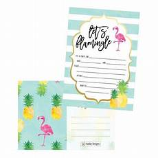 Toddler Birthday Invitation 25 Flamingo Party Invitations For Kids Teens Adults