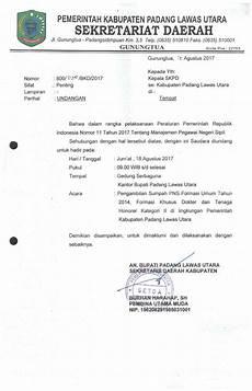 contoh surat permohonan pensiun pns