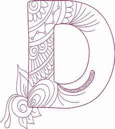 Letter Desings Zendoodle Alphabet Cd Reddin Designs