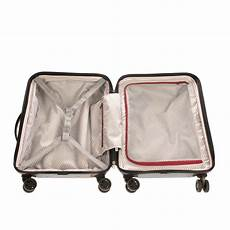 Delsey Luggage Size Chart Delsey Spinner Luggage Suitcase Cabin Size Lightweight Tsa