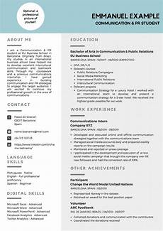 Sample Cv For Curriculum Vitae Writing Tips With Examples Eu