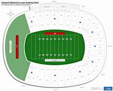 Ford Stadium Seating Chart Gerald Ford Stadium Smu Seating Guide Rateyourseats Com