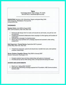 Resume Template Ms Word 2007 The Perfect College Resume Template To Get A Job