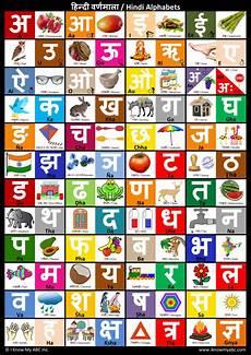 Hindi Matra Words With Pictures Chart Hindi Alphabet Chart Hindi Alphabet Poster By Harshish
