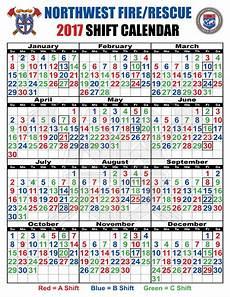 Shift Calendar Shift Schedules Northwest Fire District