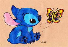 baby stitch drawing by loren hill