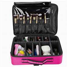 makeup bag cosmetic brush pouch storage handle