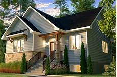 quaint 2 bed cottage home plan with open floor plan