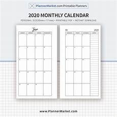 Best Monthly Planner 2020 Dated Monthly Calendar 12 Month Planner Monthly