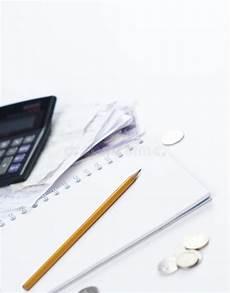 Calculating Expenses Calculating Expenses Stock Photo Image Of Bills