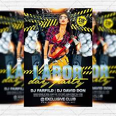 Party Flyer Size Labor Day Party Premium Flyer Template Instagram Size