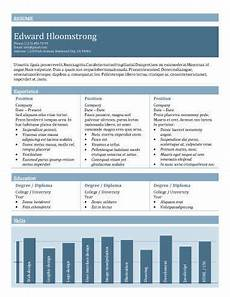 Cv Linen Chart 17 Infographic Resume Templates Free Download