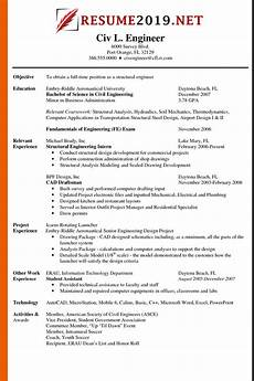 Resume Resume Format Latest Resume Format 2019 Templates 20 Examples