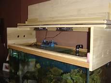 Aquarium Canopy Lights Diy Canopy And Stand Refinish Aquarium Advice Aquarium