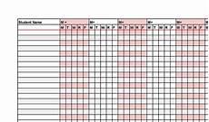 Attendance Maker 43 Free Printable Attendance Sheet Templates Templatelab
