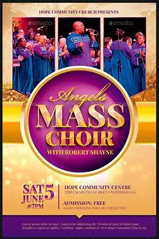 Choir Poster Templates 34 Easter Flyer Templates For Churches Inspiks Market