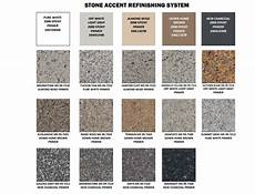 Granite Color Chart Tri Cities Tn Kitchen Counter Top Refinishing