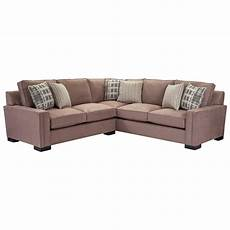 broyhill furniture 2 sectional with corner