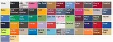 Jerzees Color Chart Color Size Charts