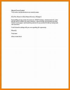 Basic Sample Resume Cover Letter 5 Basic Covering Letter Samples Sales Slip Template