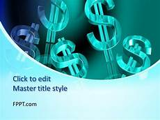 Money Background For Powerpoint Free Time Is Money Powerpoint Template